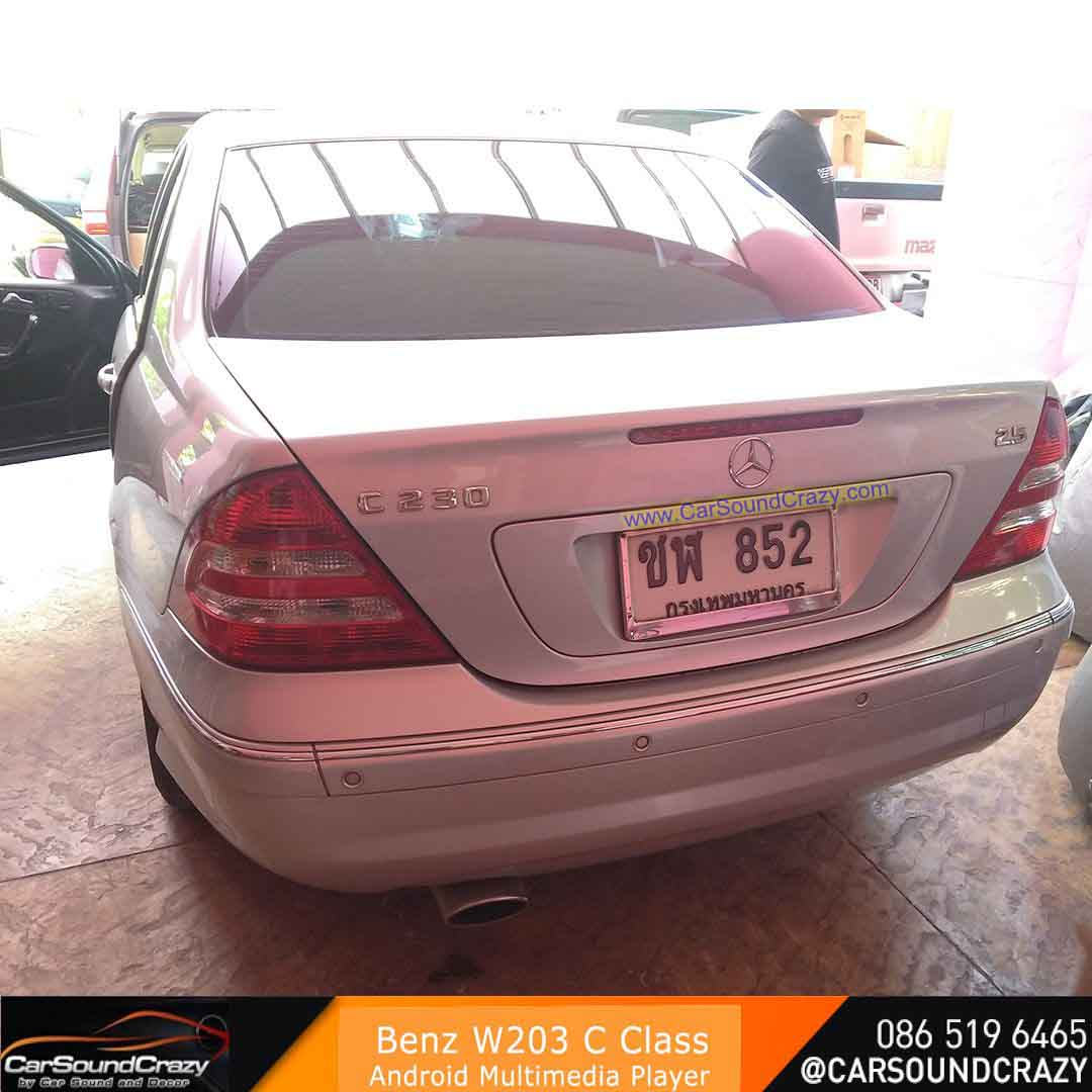 Benz W203 C Class (2004-2007) Android DVD GPS ตรงรุ่น