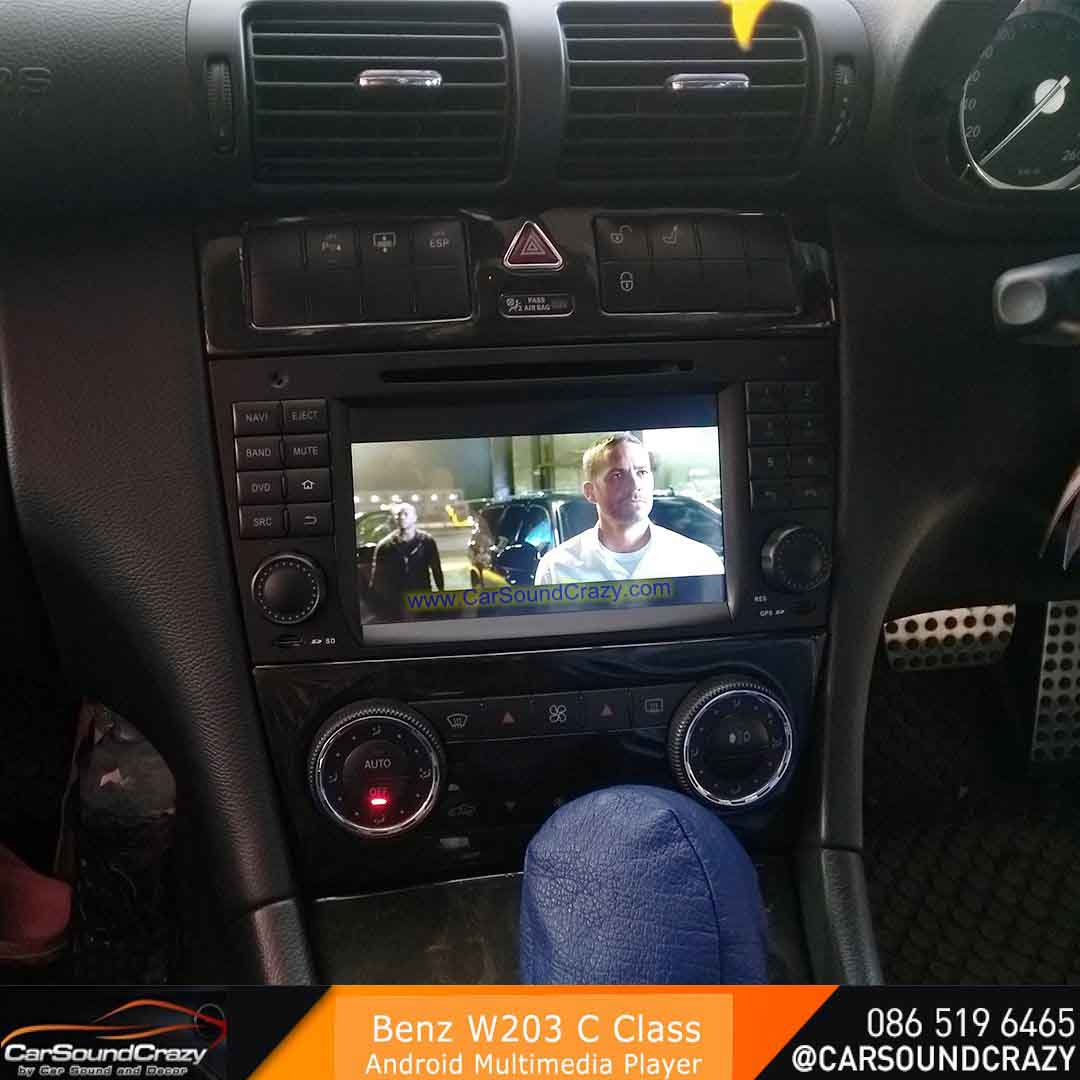 Benz W203 C Class (2004-2007) Android DVD GPS ตรงรุ่น 1