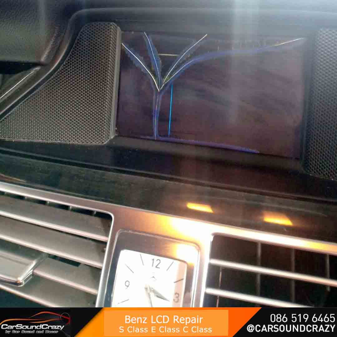 ซ่อมจอ Benz CLS W218