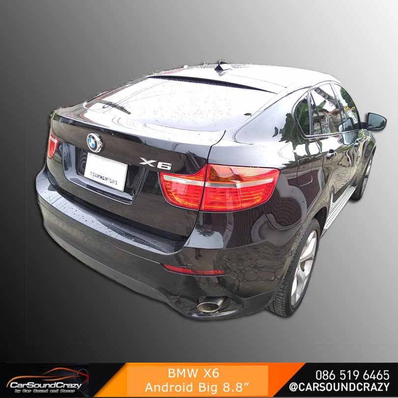 BMW X6 Android multimedia player GPS Bluetooth ตรงรุ่น