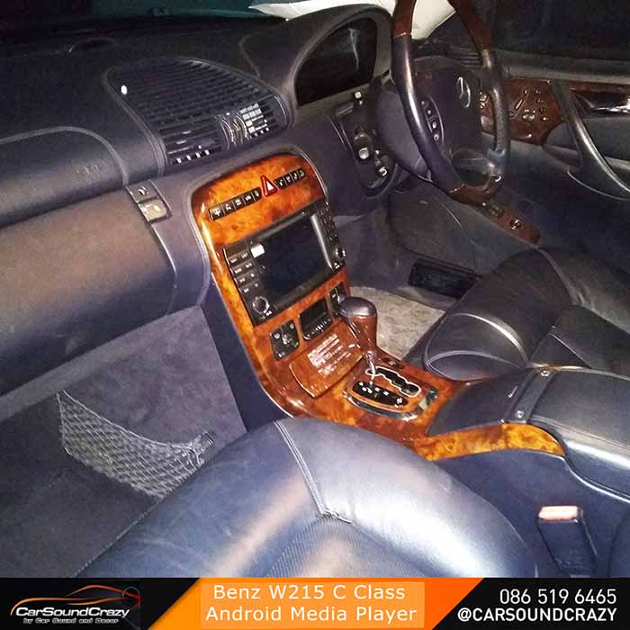 Benz C215 CL Class (1998-2006) Android Multimedia ตรงรุ่น