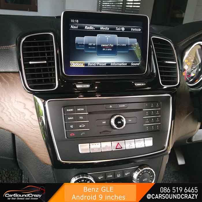 Benz GLE Android ตรงรุ่น multimedia Player จอ HD 9 นิ้ว