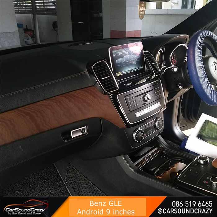 Benz GLE Android ตรงรุ่น multimedia Player จอ HD 9 นิ้ว 5