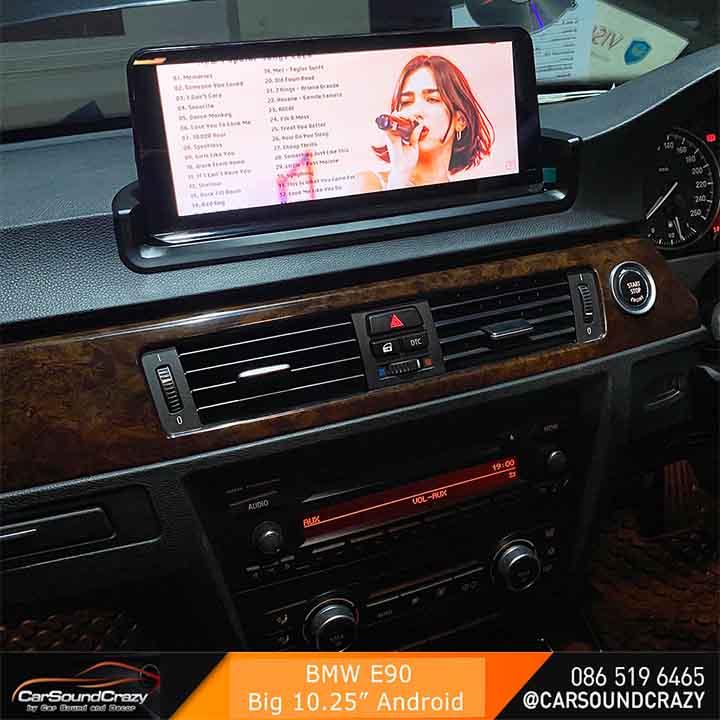 BMW E90 Series 3 android จอ 10.25 นิ้ว ตรงรุ่น