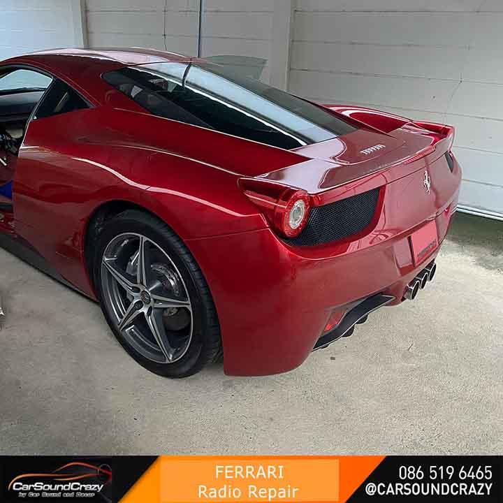 ซ่อมวิทยุ Ferrari