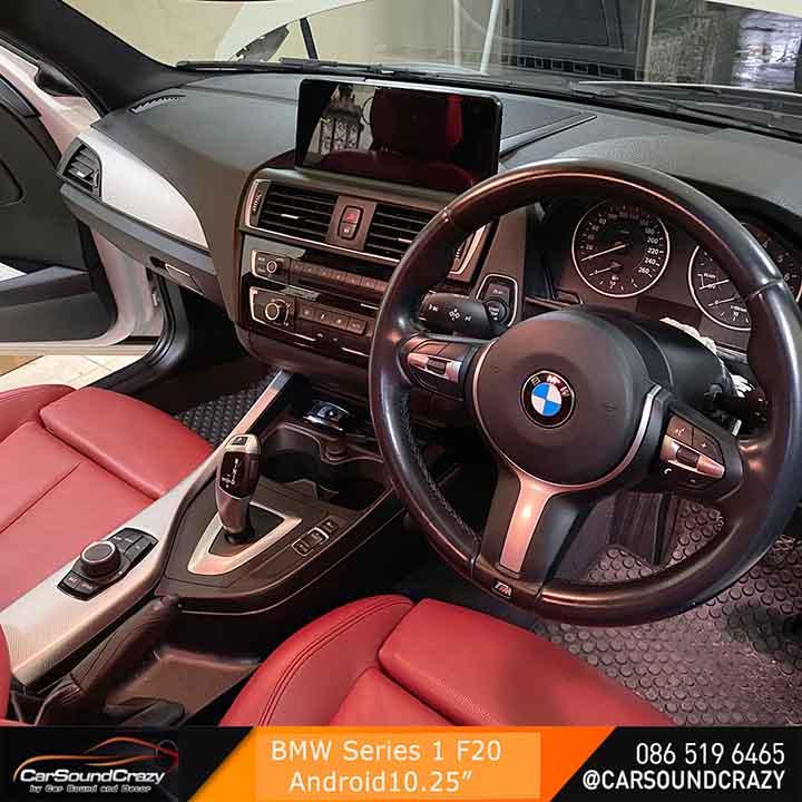 BMW F20 Series 1 (2011-2019) Android Multimedia 10.25 นิ้วตรงรุ่น