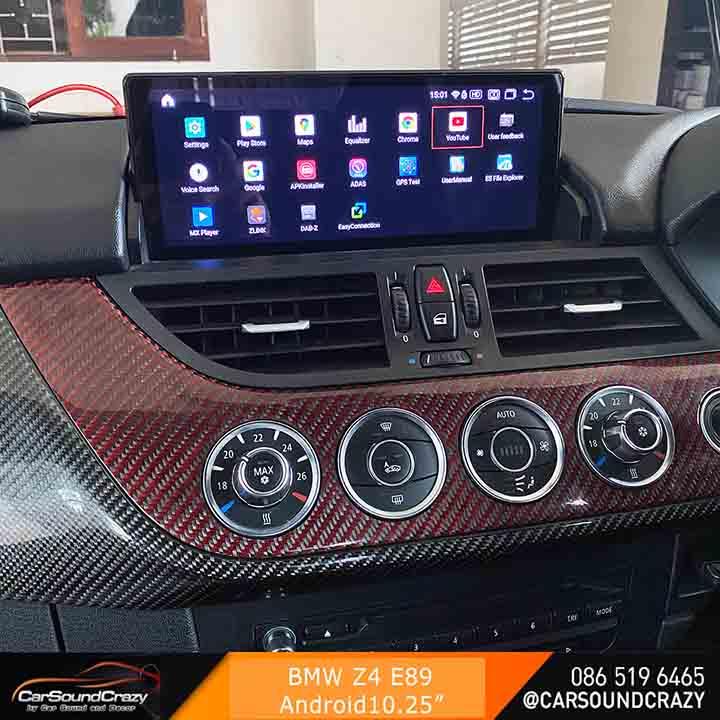 BMW E89 Z4 Android ตรงรุ่น 10.25 นิ้ว 1