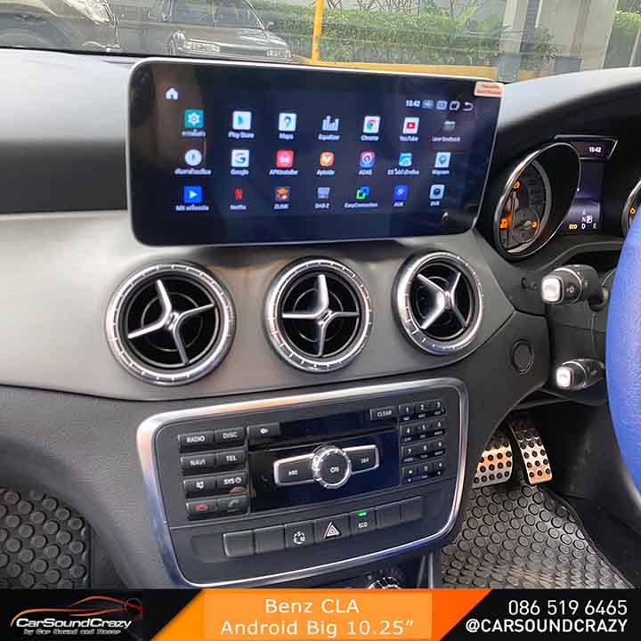 Benz CLA Android จอใหญ่ 10.25 นิ้ว ตรงรุ่น