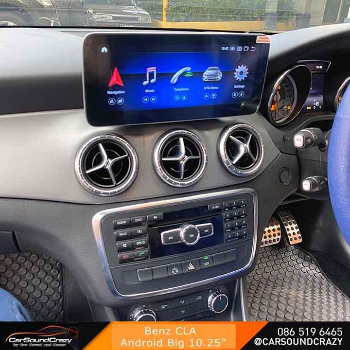 Benz CLA Android จอใหญ่ 10.25 นิ้ว ตรงรุ่น 1