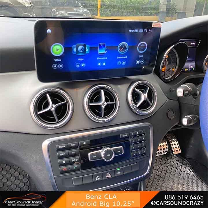 Benz CLA Android จอใหญ่ 10.25 นิ้ว ตรงรุ่น 2