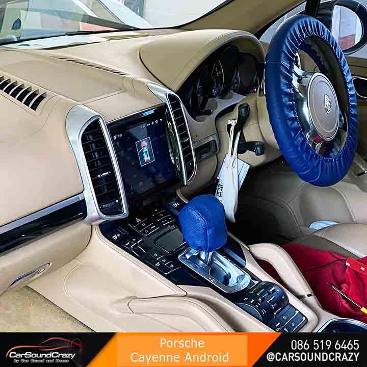 Porsche Cayenne Android ตรงรุ่น คุณภาพสุง (2011-2017)