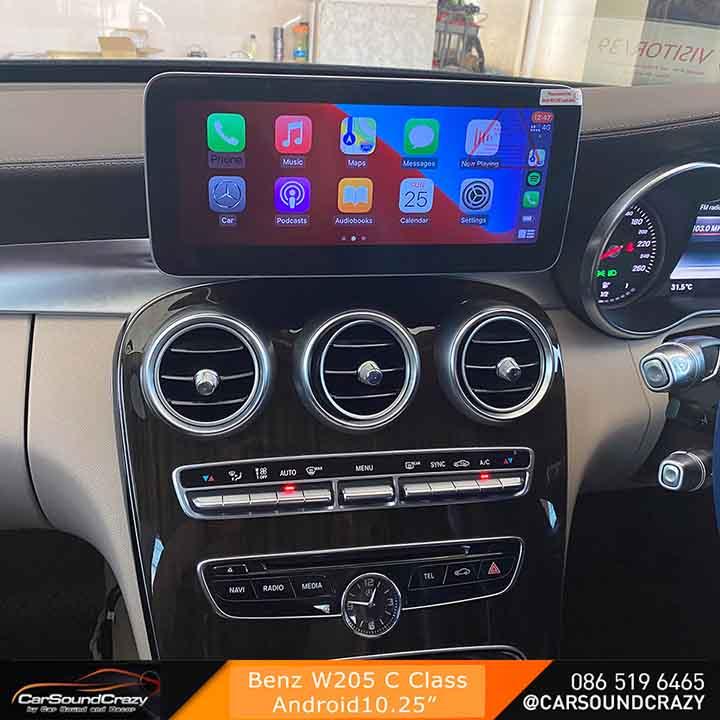 W205 Android Multimedia จอสัมผัส 10.25 นิ้ว ตรงรุ่น (2015) 3