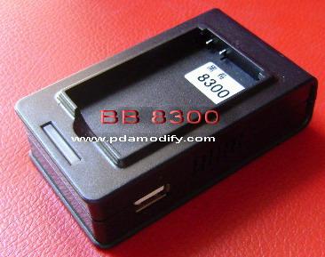 แท่นชาร์ท BlackBerry BB 8300 แบบมีปลั๊กในตัว