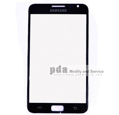 กระจกกันหน้าจอ Original black Screen glass lens  for Samsung Galaxy Note i9220 N7000