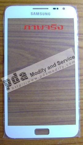 กระจกกันหน้าจอ Original white Screen glass lens  for Samsung Galaxy Note i9220 N7000