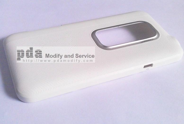White Back cover housing HTC EVO 3D