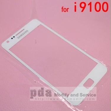 กระจกกันหน้าจอ Original White Screen glass lens Samsung Galaxy S2 i9100