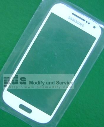 กระจกกันหน้าจอ Original White Screen glass lens Samsung Galaxy S4 mini i9190/i9192/i9195