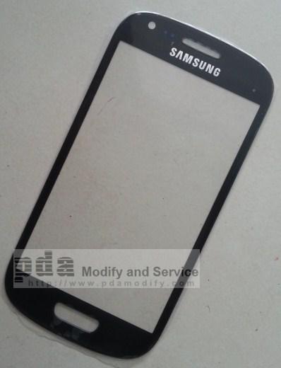 กระจกกันหน้าจอ Original titanuim gray Screen glass lens for Samsung Galaxy S3 mini i8190
