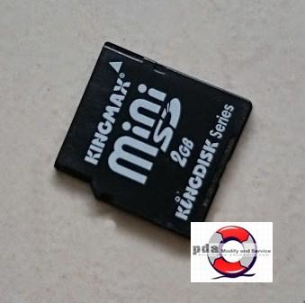 Mini SD Card 2GB มือสอง