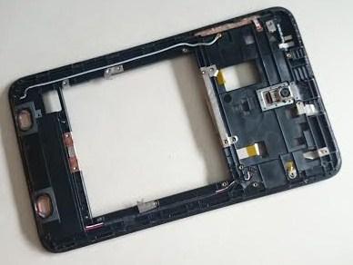 เฟรมหลัง+ลำโพงคู่+สายสัญญาณ+กล้อง+power switch ASUS MeMO Pad 8 ME180 ME180A K00L มือสองทดสอบแล้ว