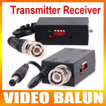 UTP Transmitter Receiver CCTV1200m 1CH Active Twisted Pair