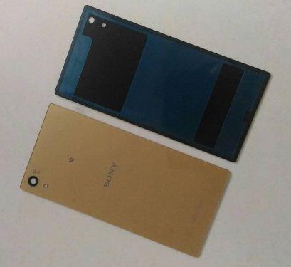 ฝาปิดหลังสีทองพร้อมกาว Sony xperia z5 E6603 E6653 E6633 E6683