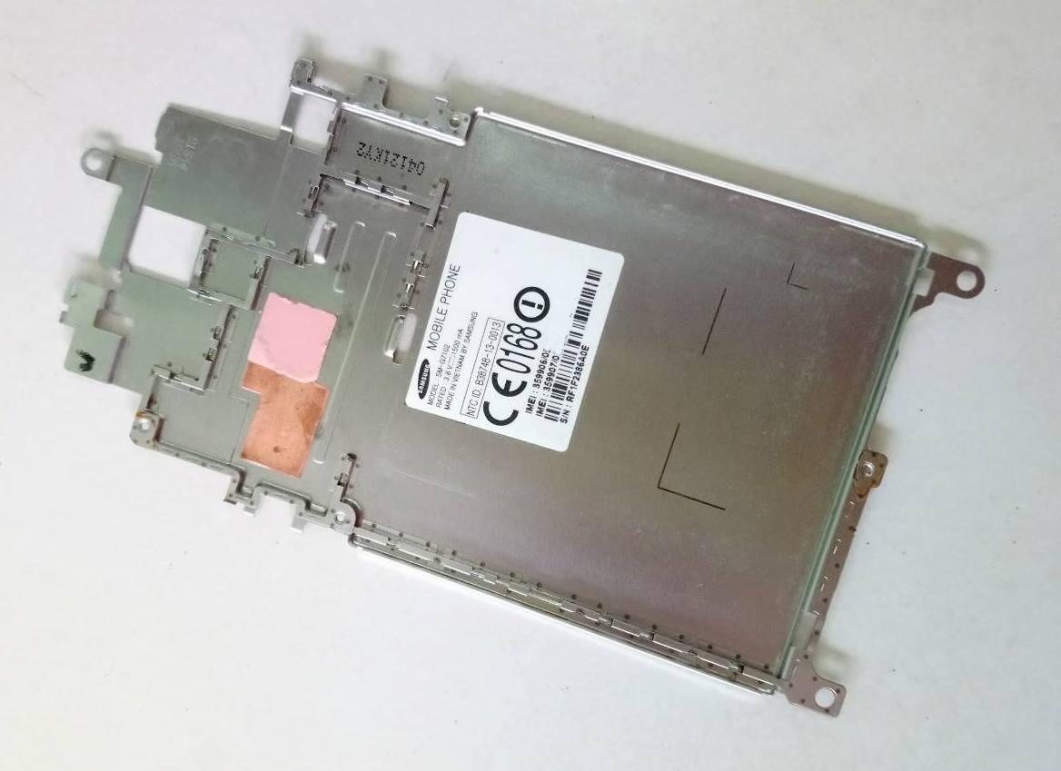 เพลทรองบอร์ด SAMSUNG grand2 G7102 มือสอง