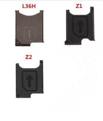 ถาดใส่ซิม Micro sim  Sony Xperia Z Z1 Z1min Z2 Z ultra