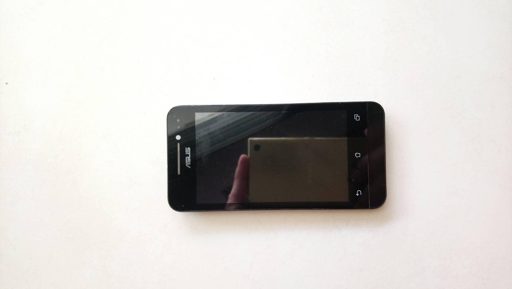 จอแท้รวมทัชสกรีนพร้อมกรอบหน้า ASUS Zenfone4 T00i มือสอง