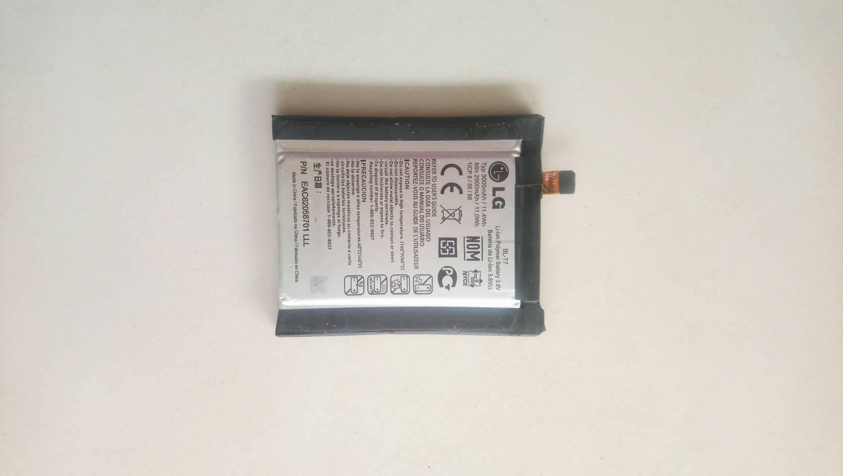 แบตเตอรี่แท้ Battery LG G2 D802 มือสอง