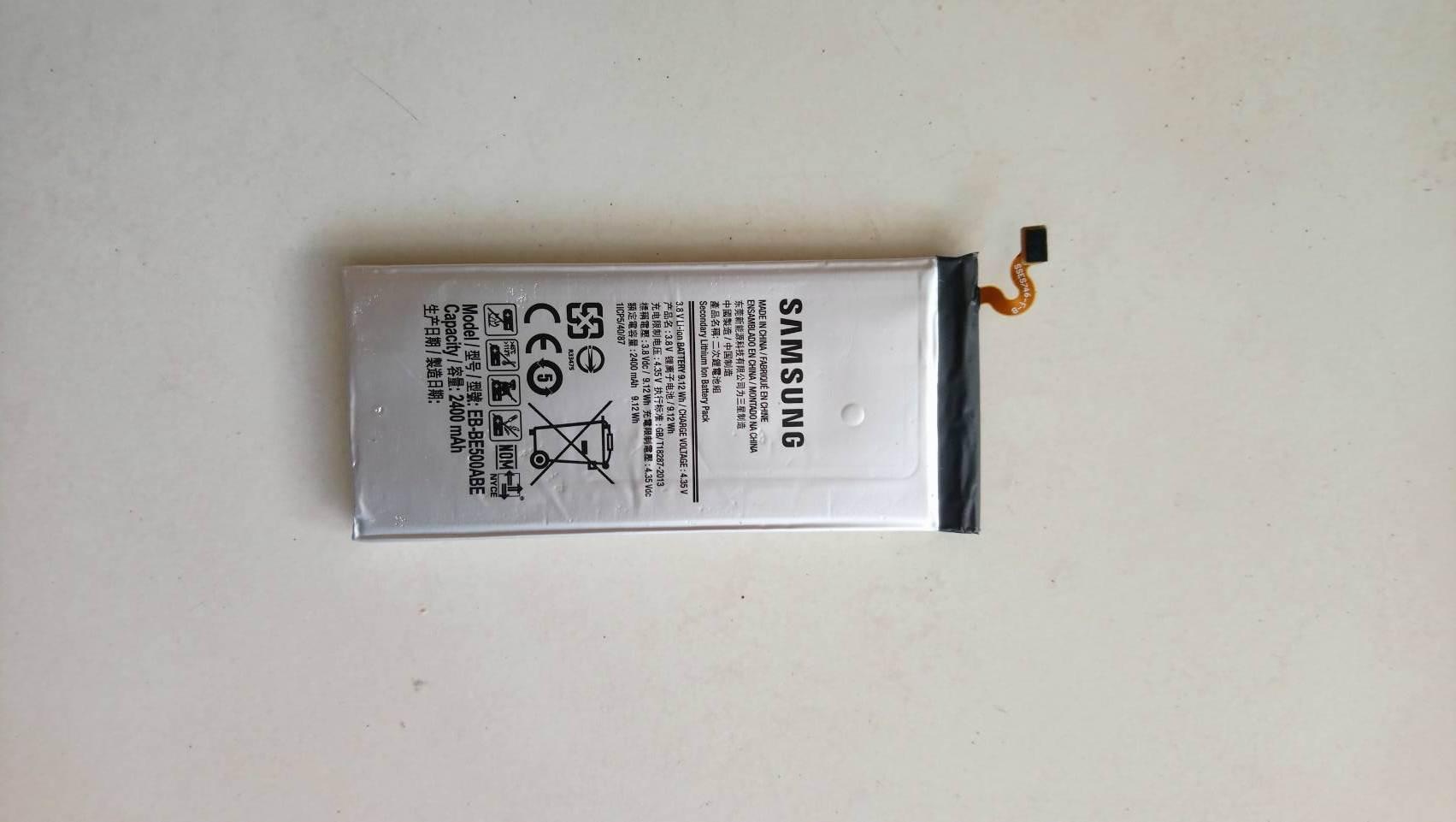 แบตเตอรี่แท้ Battery Samsung E5 / E500H มือสอง