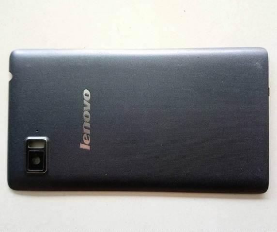 ฝาหลังสีดำ Lenovo vibe z K910 มือสอง