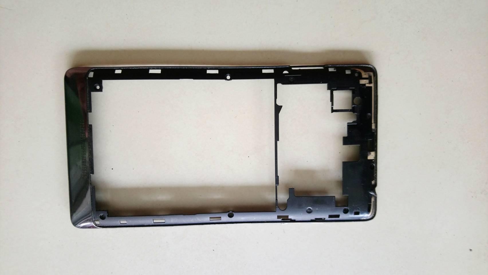 เคสส่วนหลังสีดำ Lenovo vibe z K910 มือสอง