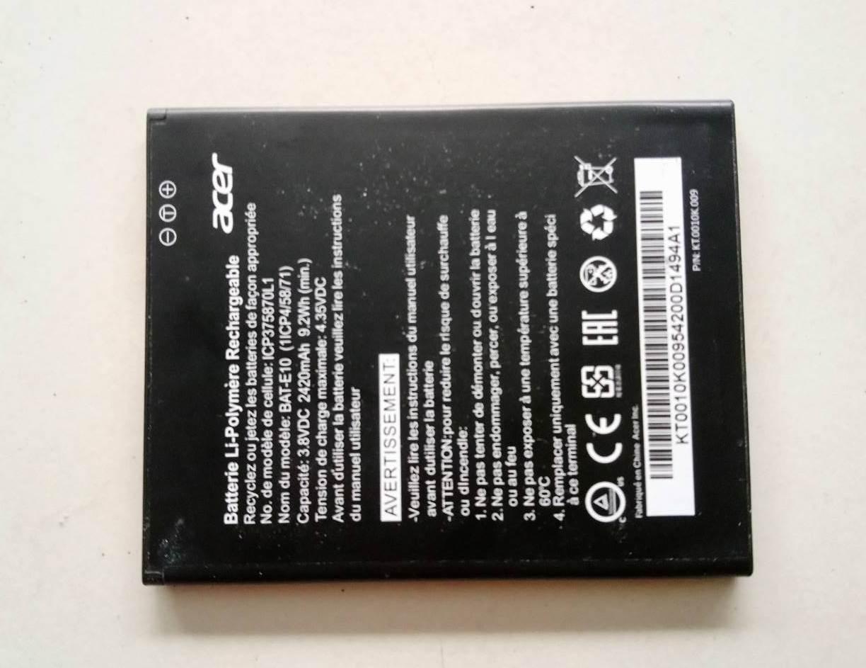 แบตเตอรี่ Battery ACER Liquid Z530 มือสอง