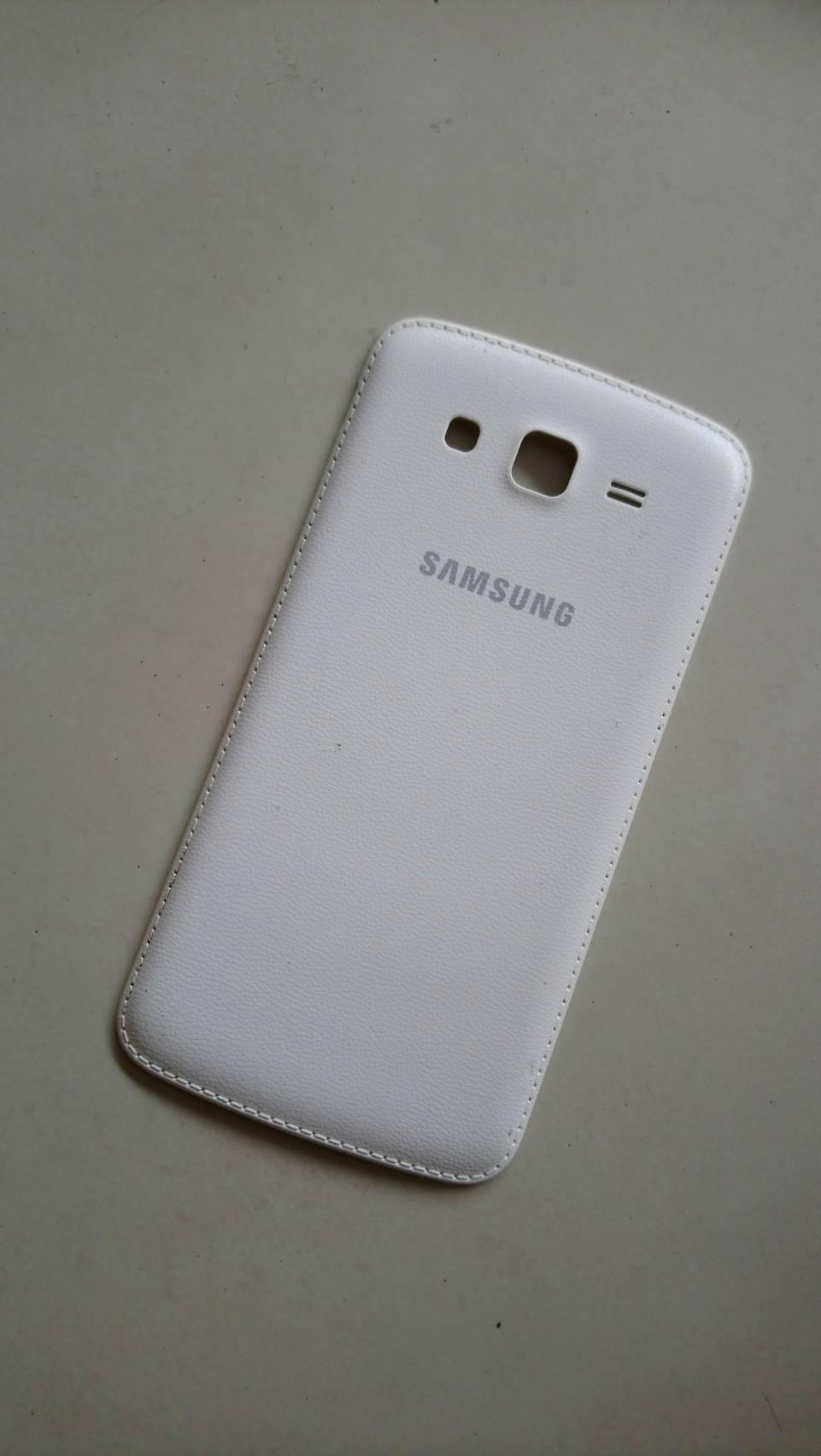 ฝาหลังแท้สีขาว SAMSUNG grand2 G7102 มือสอง