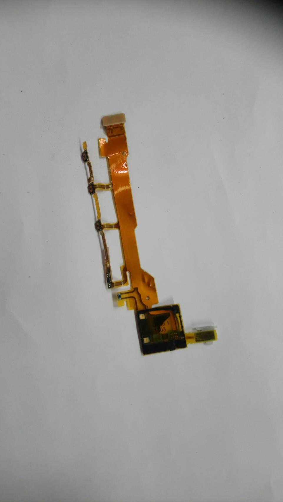 สายแพสวิทช์ปิด-เปิด-โวลลุ่ม SONY xperia Z L36h L36i C6603 C6602 C6606 มือสอง