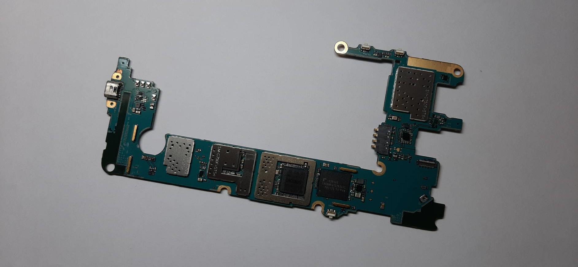 เมนบอร์ด Mainboard SAMSUNG Mega2 G750 มือสอง