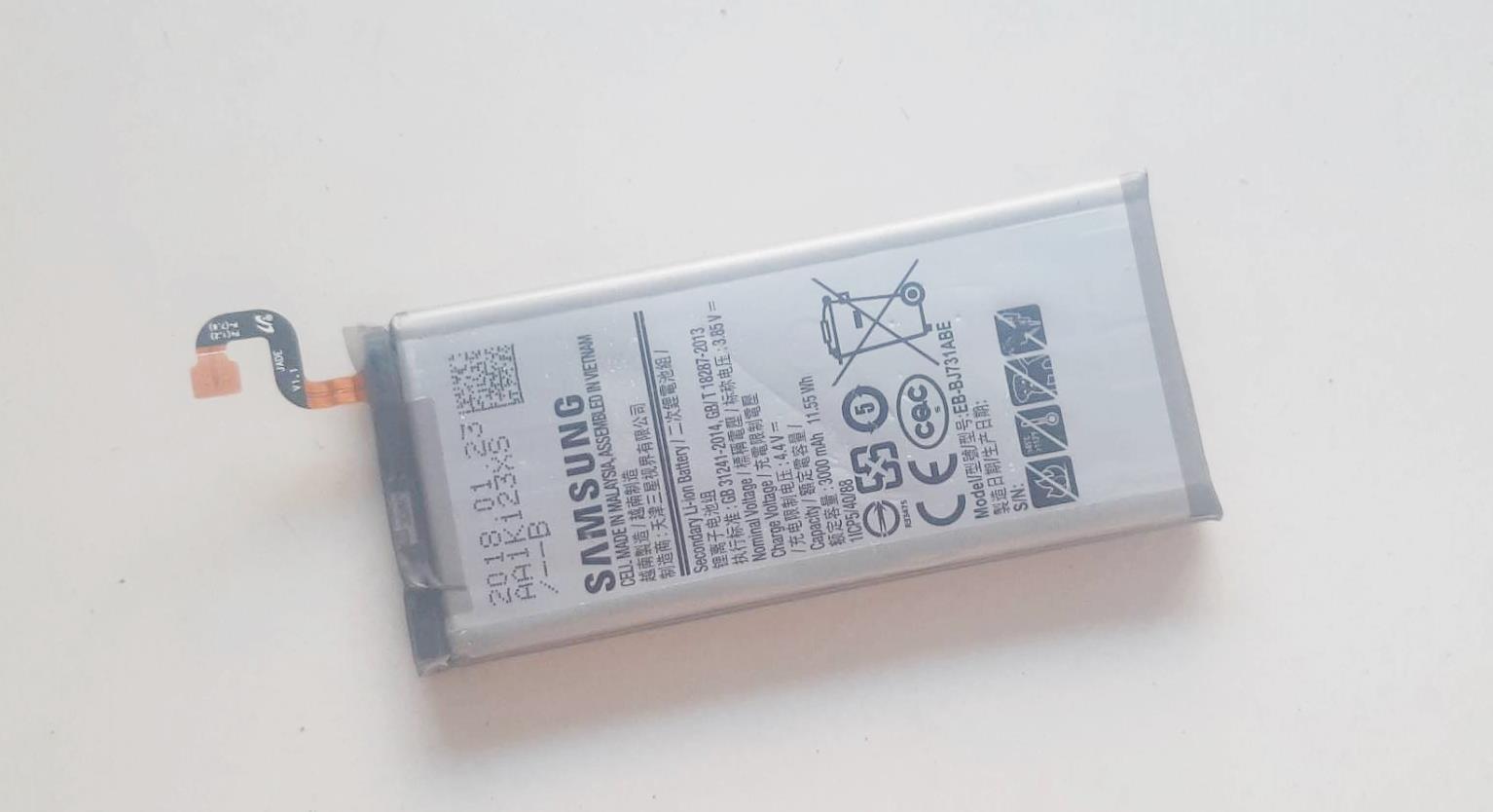 แบตเตอรี่ Battery SAMSUNG J7+ Plus C710F/DS