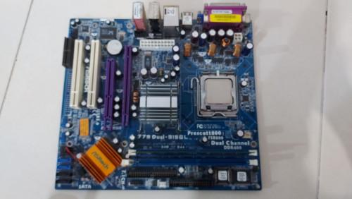 ชุดบอร์ดคอมพิวเตอร์ mainboard : Asrock 915 GL มือสอง