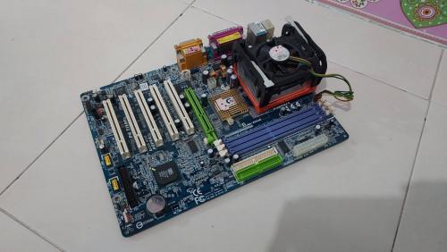 ชุด mainboard gigabyte ga-8s648 มือสอง