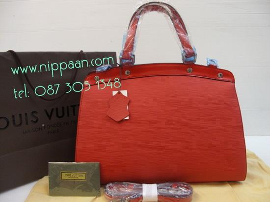 Louis Vuitton Brea MM  Epi Leather Mirror Image 7 stars สีแดง