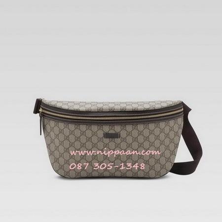 Gucci Belt bag Top mirror image image 7 stars สีน้ำตาล