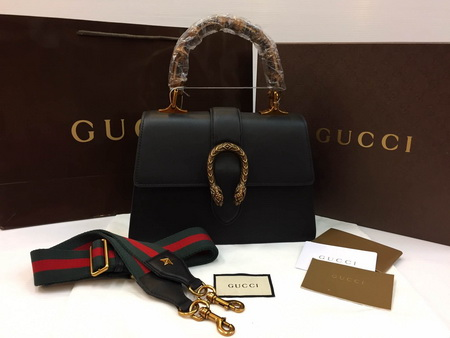 Gucci Dionysus leather top handle bag Top mirror 7 stars