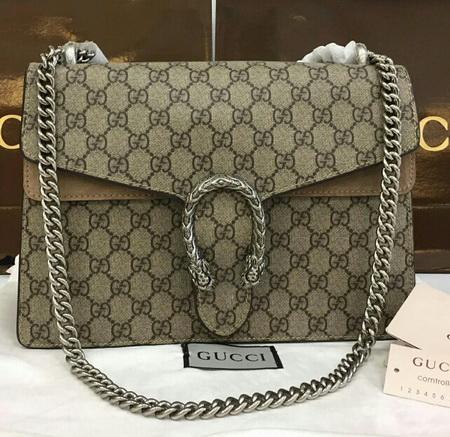 Gucci Dionysus Gg Supreme Shoulder Bag Top mirror 7 stars