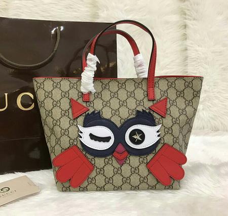 Gucci Children\'s owl tote Top mirror 7 stars