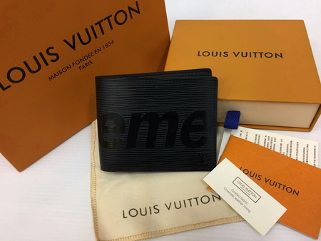 Louis Vuitton SUPREME PF SLENDER M67718 Mirror Image 7 stars Epi Leather