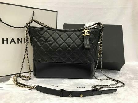 Chanel Gabrielle Hobo Bag in Black หนังแกะแท้ค่ะ