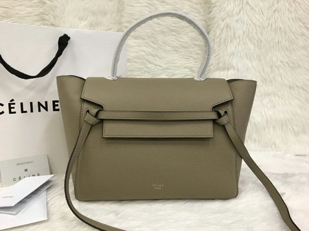 Celine Mini Belt Bag IN GRAINED CALFSKIN TOP Mirror Image 7 stars เกรด HI END