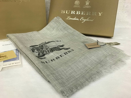 Burberry Cashmere Wrap Top Mirror Image 7 stars สีเทาอ่อน